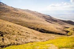 Belles montagnes du Kirghizistan Images libres de droits