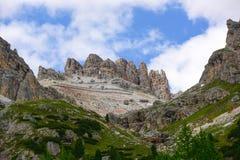 Belles montagnes en dolomites photo libre de droits