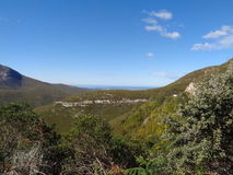 Belles montagnes Kleinpaas, Oudtshoorn Afrique du Sud Photos stock