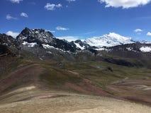 Belles montagnes Pérou photo stock