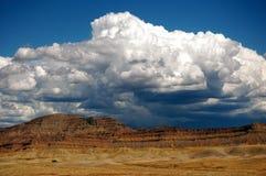 Belles montagnes rouges de roche Photo libre de droits