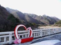 Belles montagnes Soeraksan en Corée du Sud Photos stock