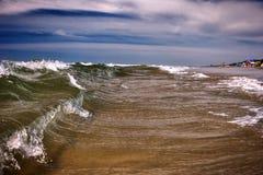 belles ondes ionosphériques Images stock