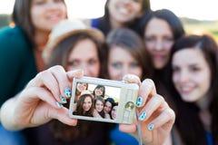 Belles personnes dans une photo Photos stock