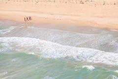 Belles plages de côte espagnole à marcher Photo stock