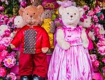 Belles poupées d'ours Image libre de droits