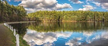 Belles réflexions de lac Image stock