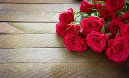 Belles roses de rose de bouquet. Vintage images stock