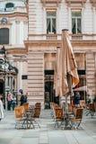 Belles rues de Vienne photographie stock libre de droits