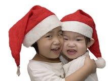 Belles soeurs de Noël Photographie stock libre de droits