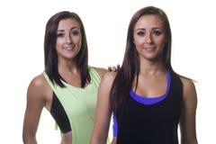 Belles soeurs jumelles de confiance Photographie stock libre de droits