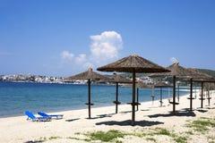 Belles vacances de plage sablonneuse photos stock