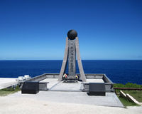 Belles vacances sur l'île de Saipan La belle île de Saipan Photographie stock