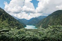 Belles vues d'Abhazia photo stock