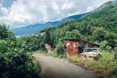 Belles vues d'Abhazia images libres de droits