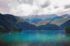 Belles vues d'Abhazia photographie stock