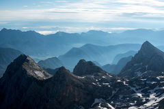 Belles vues de parc national de Triglav - Julian Alps, Slovénie photographie stock