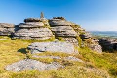 Bellever Tor Dartmoor Stock Photography