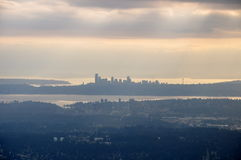 bellevue śródmieście Seattle Zdjęcia Royalty Free