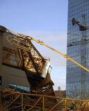 bellevue καταστροφή γερανών Στοκ Εικόνες