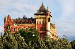 Bellevue Building, Prague. Royalty Free Stock Images