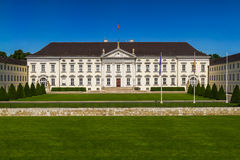 Bellevue German Presidential Palace Stock Images