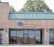 Bellevue-Kirche, Arlington, TN Stockfotografie