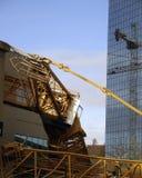 Bellevue Kran-Unfall Stockfoto