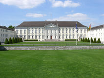 Bellevue Palace. Landscape view of the Bellevue Palace (Schloss Bellevue), the main residence of the German President, located in Berlin, Germany Stock Photography