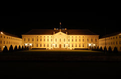 Bellevue Palace in Berlin stock photography