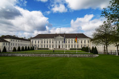 Bellevue palace in Berlin royalty free stock photography