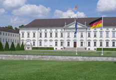 Bellevue Palace, Presidential palace in Berlin, Germany Royalty Free Stock Photo