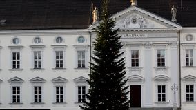 Bellevue Palace seat of the Federal President in Berlin, Germany stock video footage