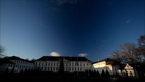 Bellevue Palace seat of the Federal President in Berlin, Germany stock footage