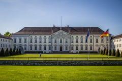 Bellevue-Palast Berlin, Amtssitz von deutschem Bundes vor Stockbild