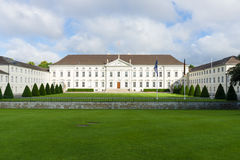 Bellevue. Presidential Palace in Berlin Stock Image