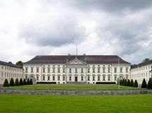 Bellevue Schloss In Berlin Royalty Free Stock Image