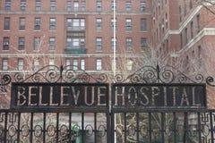 Bellevue sjukhus arkivbilder