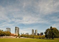 Bellevue Skyline Lizenzfreies Stockbild