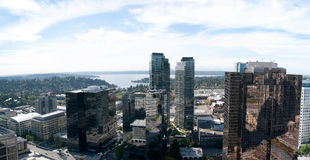 Bellevue Tower panoramic view Royalty Free Stock Images