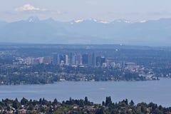 Bellevue und Seattle Lizenzfreie Stockbilder