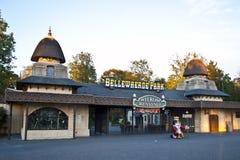 Bellewaerde公园入口 免版税图库摄影