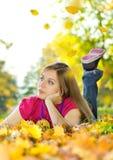 Belleza 2 del otoño Fotografía de archivo