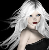 belleza 3d Fotografía de archivo