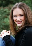 Belleza adolescente fotografía de archivo