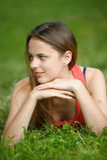 Belleza adolescente al aire libre Imagen de archivo libre de regalías