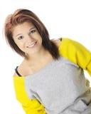 Belleza adolescente casual Imagenes de archivo