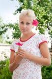 Belleza adolescente dulce foto de archivo libre de regalías