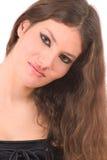 Belleza adolescente gótica Imagen de archivo