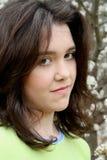 Belleza adolescente que parece enojada Fotografía de archivo libre de regalías